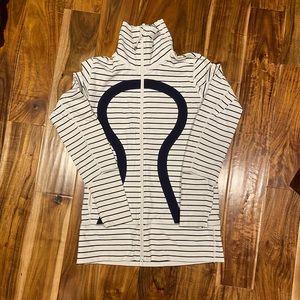 Lululemon Quiet Stripe Stride (?) Jacket - size 8